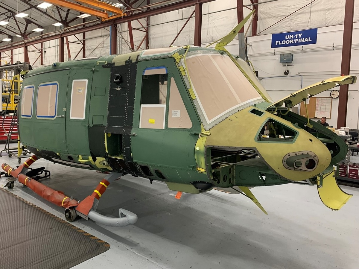 Bell restarts UH-1Y Venom helicopter production for first international operator